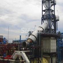 Process gas treatment unit