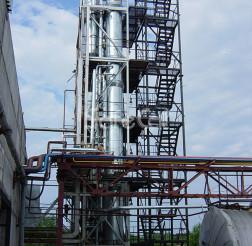 Off-gases afterburner, JSC Karelia DSP