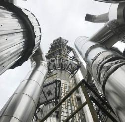 Process emissions treatment unit