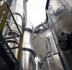 Process gases purification plant