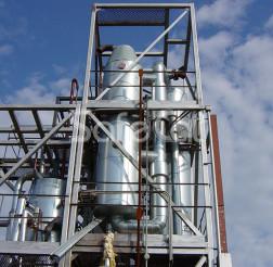 Off-gases afterburning system, JSC Karelia DSP