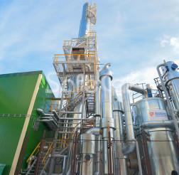 Flue gas treatment system, JSC Rechitsadrev
