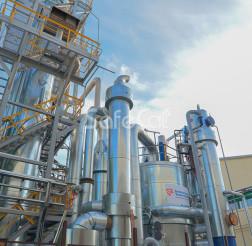 Off-gases treatment unit