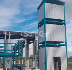 Gas emissions catalytic oxidation unit, SIBUR-Khimprom, AO