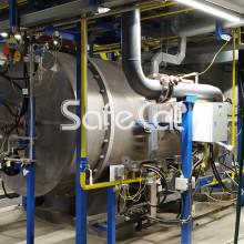 Gas emissions ans discharge tratment plant SC