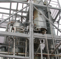 Off-gases afterburning, JSC Karelia DSP