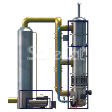 Industrial emission control system SC (with contact condensation option)