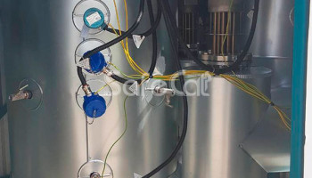 Gas emissions treatment and oxidation plant