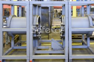 Rotary Concentrator of Air Purification Plant