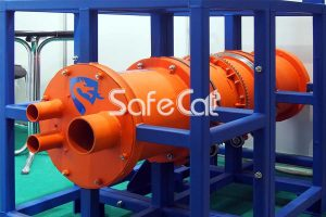 Rotary concentrator for contaminated emissions