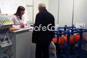Safe Technologies exhibition stand at VUZPROMEXPO