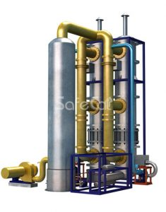 Off gas catalytic purification unit